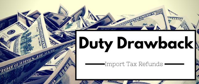 Duty Drawback w.r.t Brand Rate Fixation